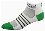 G-Tech 1.0 Socks - white/green