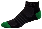 G-Tech 1.0 Socks - black/green