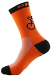 "G-Man Tall Socks 6"" - Neon Orange"