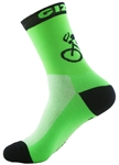 "G-Man Tall Socks 6"" - Neon Green"