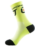 "Crono Socks 6"" - Neon Yellow"