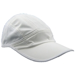 Running Hat Low Profile - White