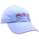 Triathlon Running Hat - Light Blue