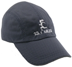 Gizmo Girl with 13.1 - Running Hat - Charcoal