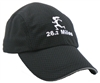 Gizmo Girl with 26.2 - Running Hat - Black