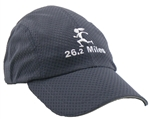 Gizmo Girl with 26.2 - Running Hat - Charcoal
