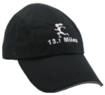 Gizmo Girl with 13.1 - Running Hat - Black