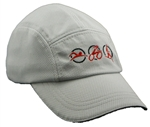 Triathlon Running Hat - Light Grey