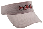 Triathlon Running Visor - Pink