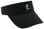 Gizmo Girl - Running Visor - Black