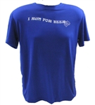 I Run For Beer - Run Tech Shirt - s/s - royal
