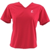 V-Tech Women's Short Sleeve Running Top - Red