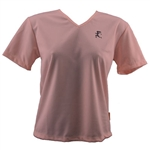 V-Tech Women's Short Sleeve Running Top - Pink