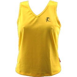 V-Tech Women's Running Tank Top - Yellow