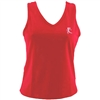 V-Tech Women's Running Tank Top - Red