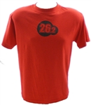 26.2 Dri-Release Running Shirt - S/S - red