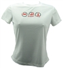 Triathlon - Women's Run Tech Shirt - s/s - White
