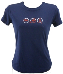 Triathlon - Women's Run Tech Shirt - s/s - navy blue