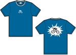 GIZMO G-Man Blast Bicycle T-Shirt - Indigo Blue
