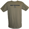 Zero Emissions T-Shirt - Steel Green
