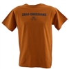 Zero Emissions T-Shirt - Burnt Orange