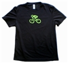GIZMO Cycling G-Man Bicycle Tech Shirt - Black/Green