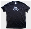 GIZMO Cycling G-Man Bicycle Tech Shirt - Black/White
