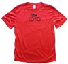 GIZMO Cycling G-Man Bicycle Tech Shirt - Red/Black