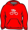 GIZMO Cycling G-Man Classic Hoodie - Red