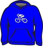 GIZMO Cycling G-Man Classic Hoodie - Royal Blue
