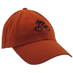 G-Man Bicycle Hat - Orange