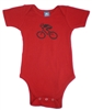 G-Man Bicycle Onesie - Red