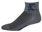 Gizmo Girl Wooly-G Socks - granite