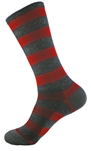 "Wooly-G Tall Stripes 8""- Red"