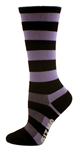 Bamboo Stripes Tall - Purple/Black