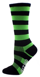 Bamboo Stripes Tall - Green/Black