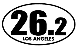 26.2 Los Angeles Marathon Sticker