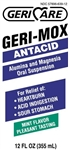 Geri Mox Antacid Liquid, 12 oz, Mint Flavor, Compares to Maalox