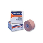 "Leukotape P Athletic Adhesive Tape, 1 1/2""x15 yd, Rayon, Cloth, Tan, 1 RL"