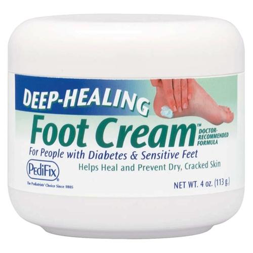Deep healing foot cream 4 oz jar