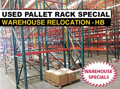 Used Pallet Rack Special