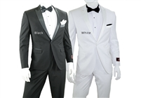 1 Button - Peak Lapel - Slim Fit Tuxedo