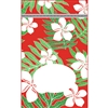 Laua`e Red Large Stand Up Zipper Pouch