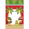 Aloha Cuties Mele Kalikimaka Medium Stand Up Zipper Pouch