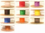 Kynar Wire Wrap Wire 24 AWG Solid Conductor, 10 Colors Available, 500' Item# KYNAR24-XX-0500