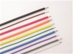 Type E MIL-W-16878/4 PTFE Teflon 12 AWG (19/25), 10 Colors Available, 100' Spool. Series# E-12(19)-XX-0100