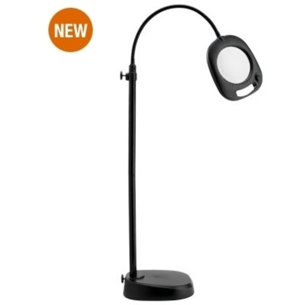"5"" LED Floor & Table Mag Light Black by The Daylight Company (UN1081)"
