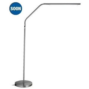 Slimline Floor Lamp Brushed Chrome - PRE-ORDER NOW! by The Daylight Company (U32117)