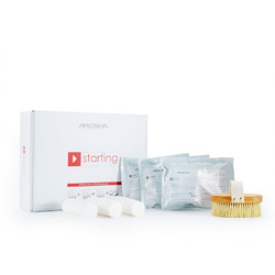 Arosha Starting Kit - The Best Pack to Start Wrapping 8 Treatment Professional Body Wrap Kit (ARO101001 X 1)
