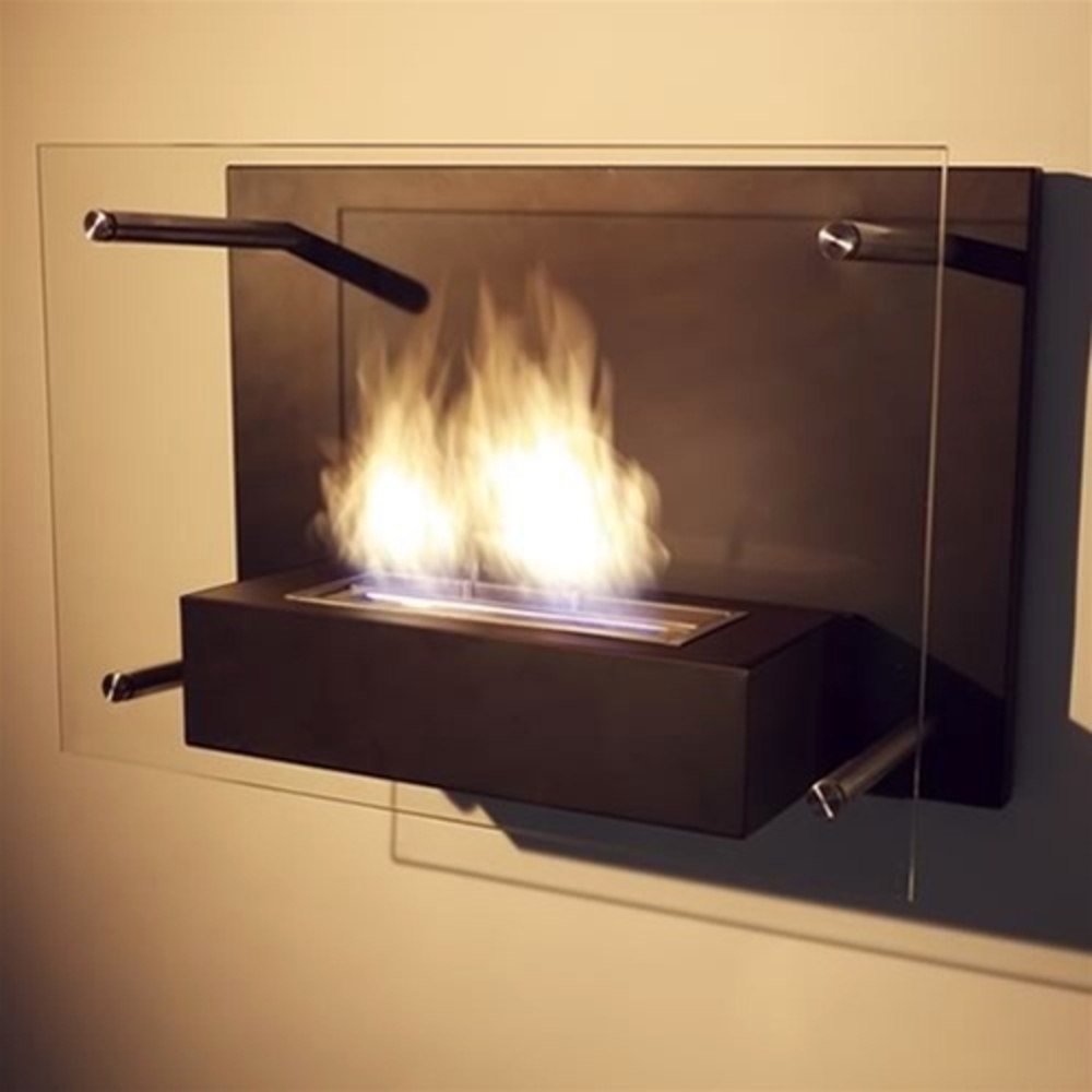 - Wall Mounted Radia Ethanol Fireplace By Nu-Flame (NF-W4RAA)